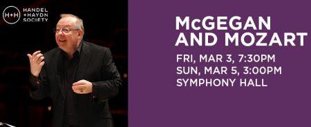McGegan and Mozart