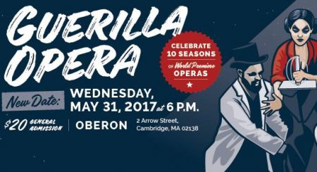 Guerilla Opera's 10th Anniversary Celebration