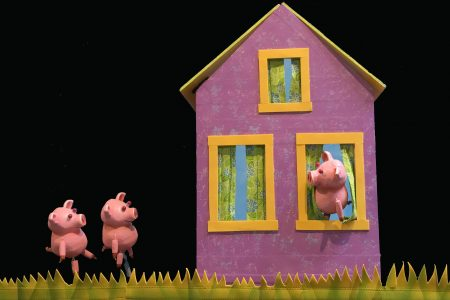 The Three Little Pigs Build a Better House
