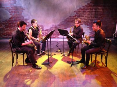 BPL Concerts in the Courtyard: Area 9 Quartet