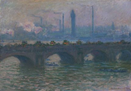 Monet's Waterloo Bridge: Vision and Process