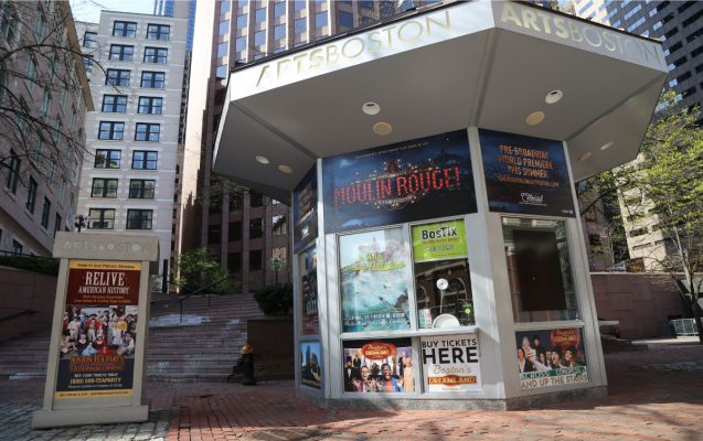 BosTix Ticket Deal Booth at Faneuil Hall Marketplace