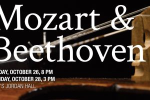 Mozart and Beethoven