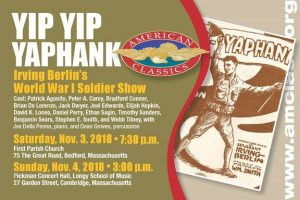 Yip Yip Yaphank: Irving Berlin's World War I Soldier Show (Bedford)