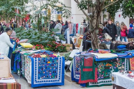 Cultural Survival Bazaar in Boston