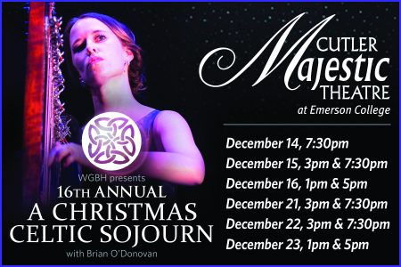 A Christmas Celtic Sojourn with Brian O'Donovan in Boston
