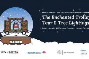 Mayor's 2018 Enchanted Trolley Tour