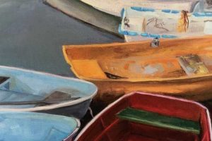 "Lynne Schulte ""At Water's Edge"" Solo Exhibit Marblehead Arts Association"