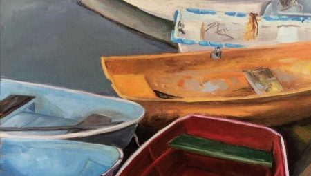 """Lynne Schulte """"At Water's Edge"""" Solo Exhibit Marblehead Arts Association"""