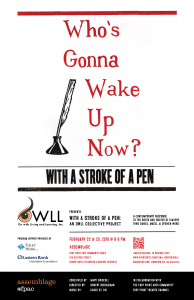 With a Stroke of a Pen: An OWLL Collective Project...