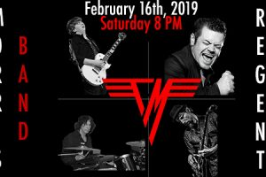 "Tyler Morris Eruption Performs ""Van Halen 1"" --A 40th Anniversary Concert Experience"