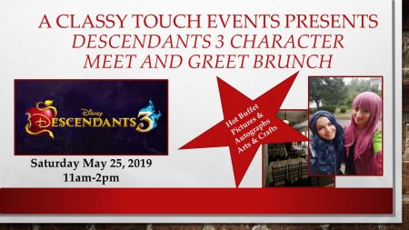 Descendants 3 Character Meet and Greet Brunch