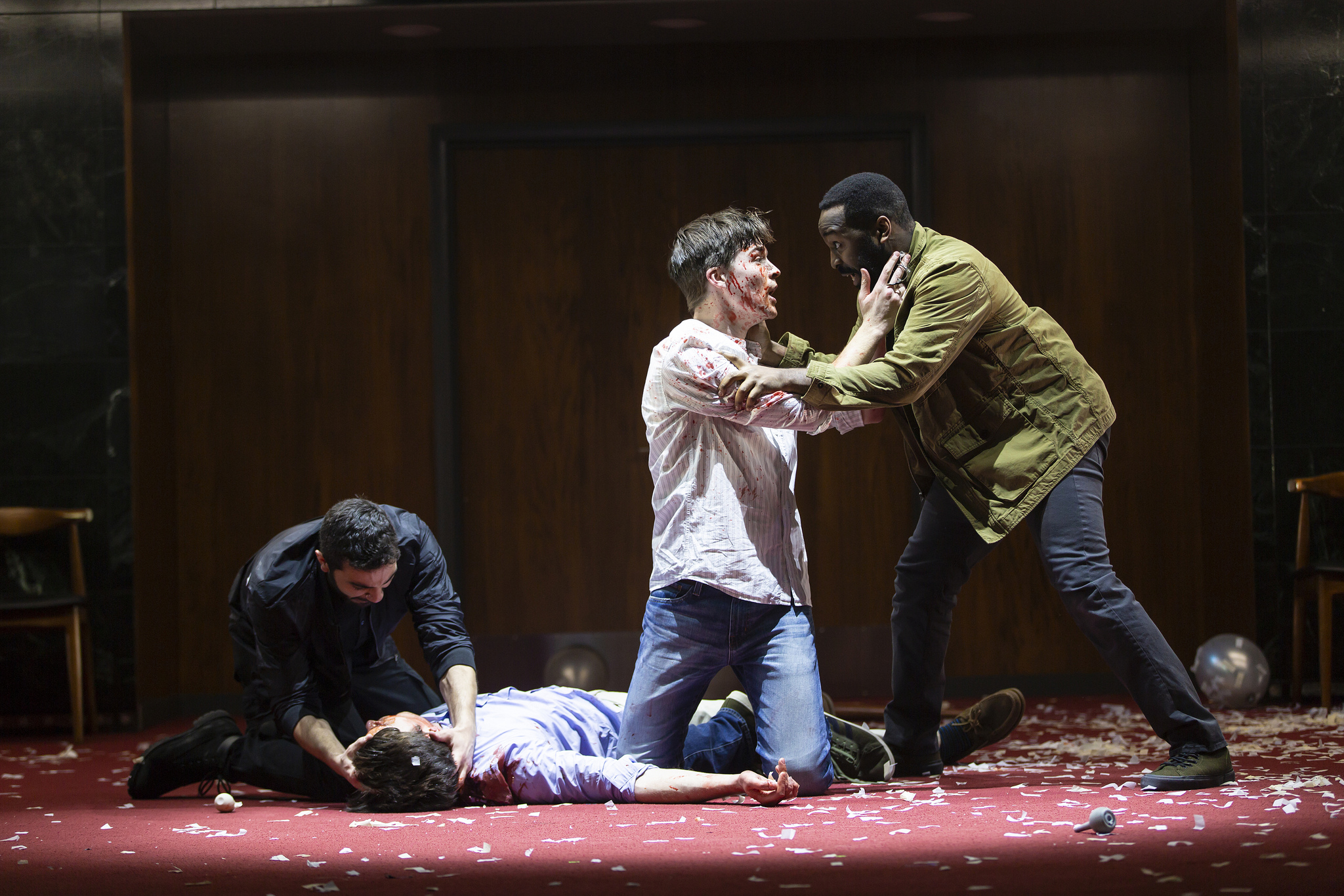 Company of Romeo and Juliet ROMEO AND JULIET Huntington Theatre Company Avenue of the Arts / Huntington Avenue Theatre March 1 - 31, 2019 Photo: T. Charles Erickson