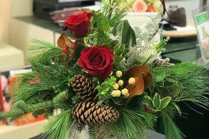 Rustic & Relaxed Arrangement: Festive Holiday Class