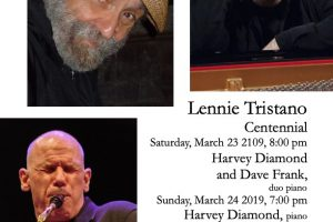 Lennie Tristano Centennial: Harvey Diamond and Dave Frank duo piano