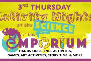 Activity Night at the Science Emporium: The Ocean's Rocky Shores
