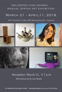 Arlington High School Spring Art Exhibit Reception