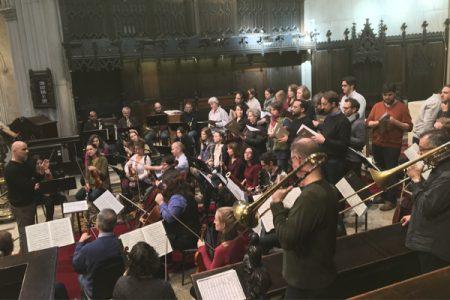 Open Rehearsal of Bach Cantata BWV 124