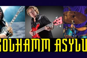 SKOLHAMM ASYLUM featuring ALEX SKOLNICK, STU HAMM, JOEL TAYLOR