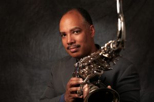 Jazz on the Plaza with Harvard Jazz Bands,with saxophonist Don Braden '85