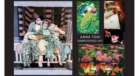 Anna Thai EMBROIDERED ART