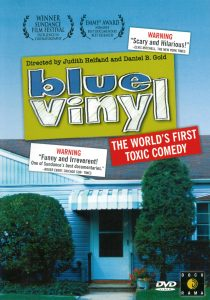 "The screening of ""Blue Vinyl"" by The Slow Space Mo..."