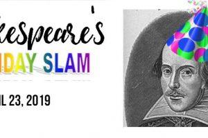 Theatre@First Shakespeare Birthday Slam!