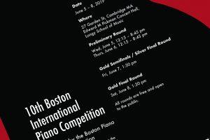 Boston Piano Amateurs Association Celebrates 10th Boston International Piano Competition