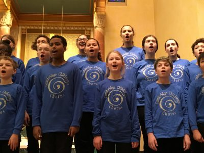 "Cambridge Children's Chorus ""All Creatures Great and Small"" community concert"