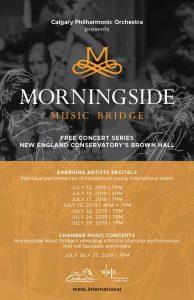 Morningside Music Bridge Emerging Artist Recitals