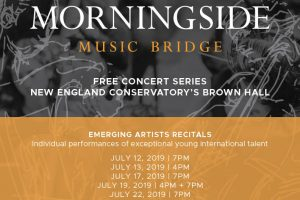 Morningside Music Bridge Emerging Artist Recitals