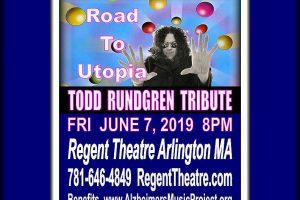 Gary Backstrom Todd Rundgren Tribute Regent Theatre Arlington