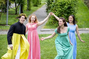 Pride and Prejudice Performance with Actors' Shakespeare Project
