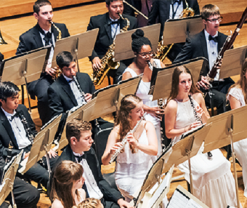 Boston University Tanglewood Institute (BUTI) Young Artists Wind Ensemble Free Concert Ozawa Hall
