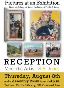 Pictures at an Exhibition: S.B. Jones Reception