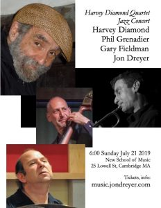 Harvey Diamond Quartet: Grenadier, Dreyer, Fieldma...