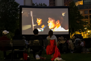 Coolidge on The Greenway: Back to the Future Part II (on 35mm)