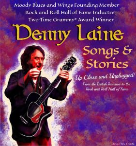 Rock and Roll Hall Of Fame inducted Denny Laine: S...