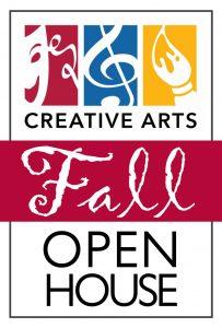 Fall Open House at Creative Arts