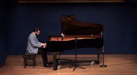Alex Thomas on Piano