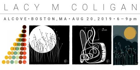 Lacy Coligan Art Exhibit at Alcove Boston