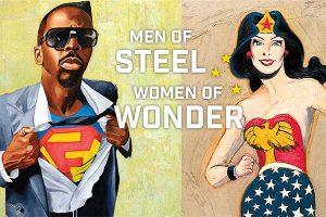 Lecture: Of Waistbands and Journeys: Exploring Men of Steel, Women of Wonder
