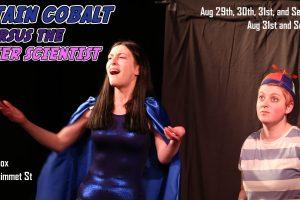 Captain Cobalt vs. the Sinister Scientist