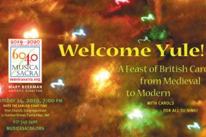 Welcome Yule: A Feast of British Carols from Medieval to Modern