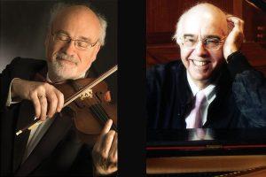 Unaccompanied Bach Workshop Benefit Concert with Daniel Stepner, violin and Yehudi Wyner, piano