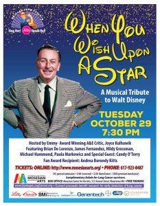 Upstage Lung Cancer Presents Musical Celebration of Walt Disney
