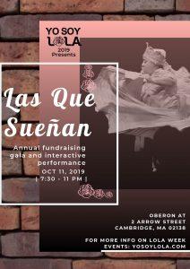 Las Que Sueñan: Latinas in Arts, Show & Fundraiser - LOLA Week