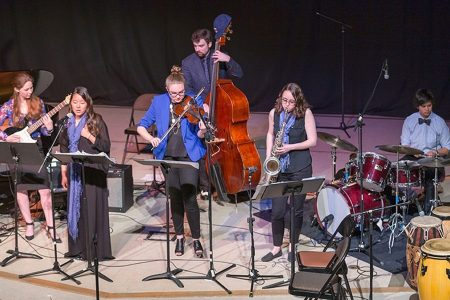 Wellesley BlueJazz Combos and Strings Fall Concert...