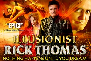 Illusionist Rick Thomas