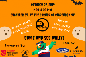 Tadpole's Annual Halloween Block Party For Kids